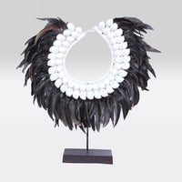 Decor Piece- Tribal Necklace on Stand