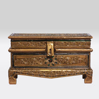 Gold Ornate Storage Chest- Small