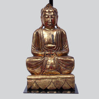Sitting Buddha on Lotus