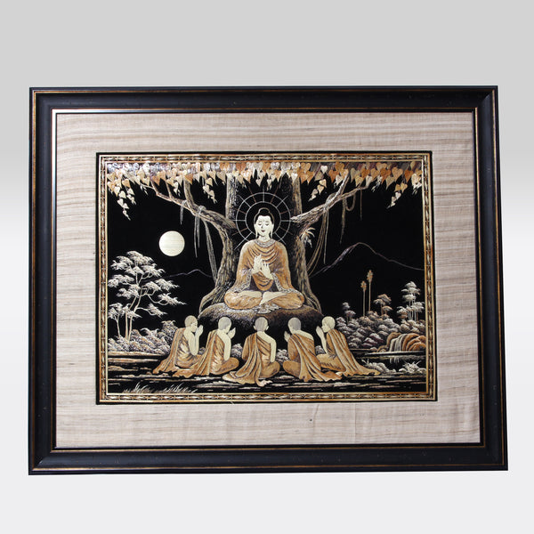Buddha Wall Hanging ( Framed)