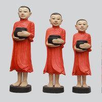 Set of Standing Monks
