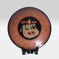 Lacquer Ware Plate on Stand