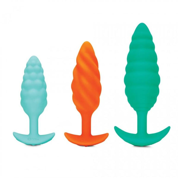 b-Vibe Textured Plugs - Kinkly Shop