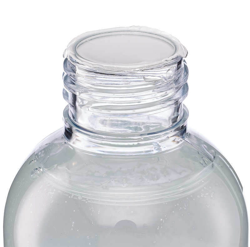 Close-up of the top of the bottle with the lid removed to show the spill-proof seal that the Cloud 9 Personal Lubricant ships with | Kinkly Shop
