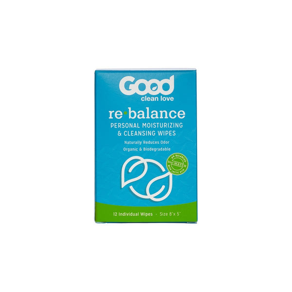 Good Clean Love Rebalance pH-Balanced Feminine Wipes - Kinkly Shop