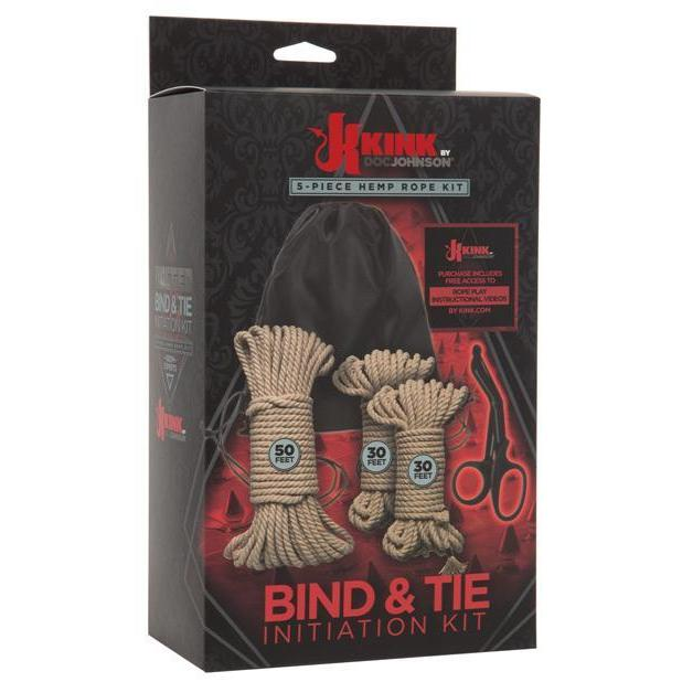 Kink Bind & Tie Initiation Hemp Rope Kit - Kinkly Shop