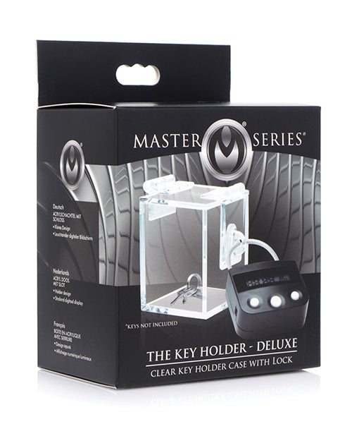 Master Series Chastity Key Case with Automated Lock | Kinkly Shop