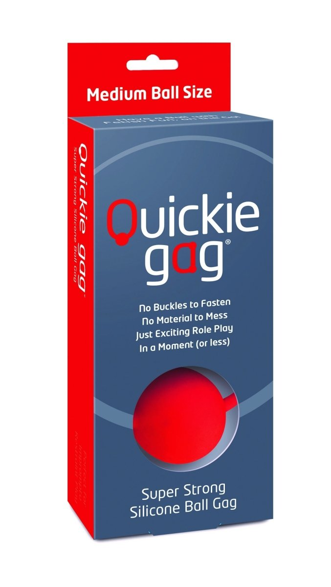 Quickie Ball Gag - Kinkly Shop