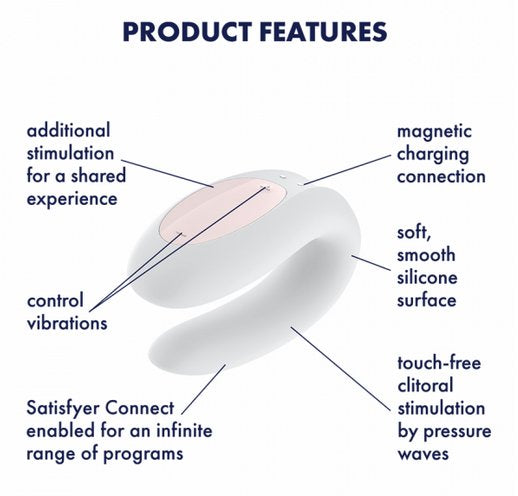 Satisfyer Double Joy | Kinkly Shop