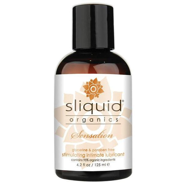 Sliquid Organics Sensations Lubricant - 4.2OZ - Kinkly Shop