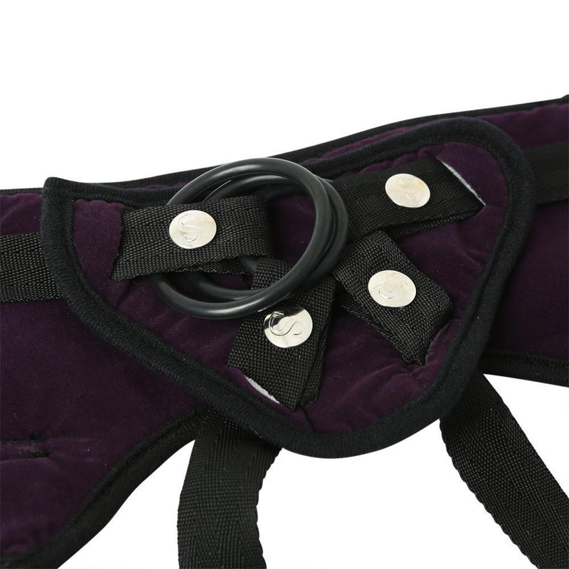 Sportsheets Lush Purple Strap On - Kinkly Shop