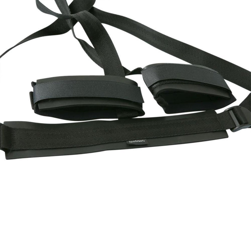 Sportsheets Sex Sling - Black - Kinkly Shop