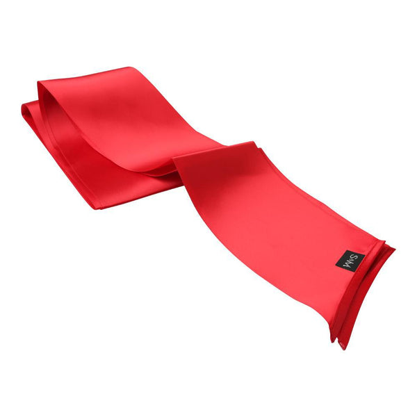 Sportsheets Silky Sash Restraint, Red - Kinkly Shop