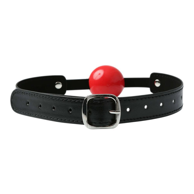 Sportsheets Solid Red Ball Gag - Kinkly Shop