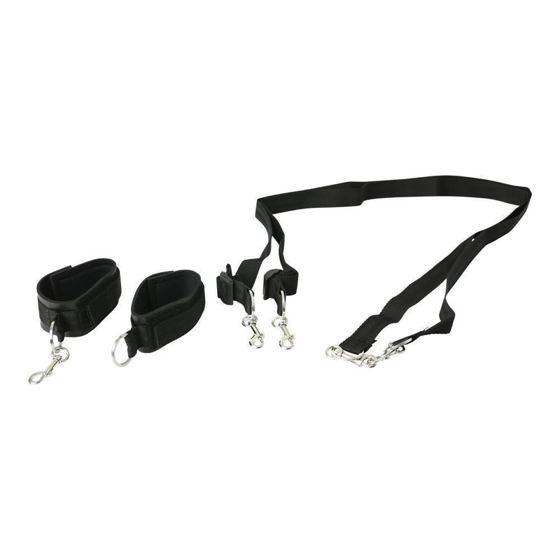 Sportsheets Sports Cuffs & Tethers Kit - Kinkly Shop
