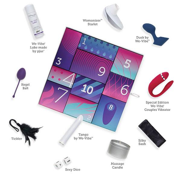 We-Vibe Discover Gift Box - Advent Kit - Kinkly Shop