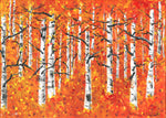 BURNING BIRCHES