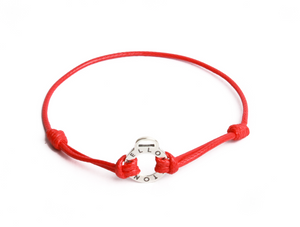 Bracelet cordon rouge YS officiel