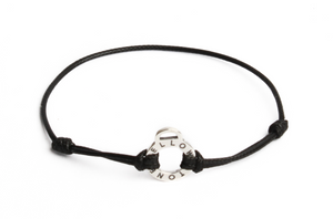 Bracelet cordon noir YS officiel