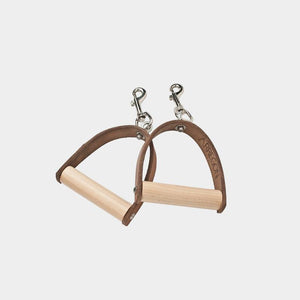 Wood and Leather Handles | Arregon® Original Pilates Equipment