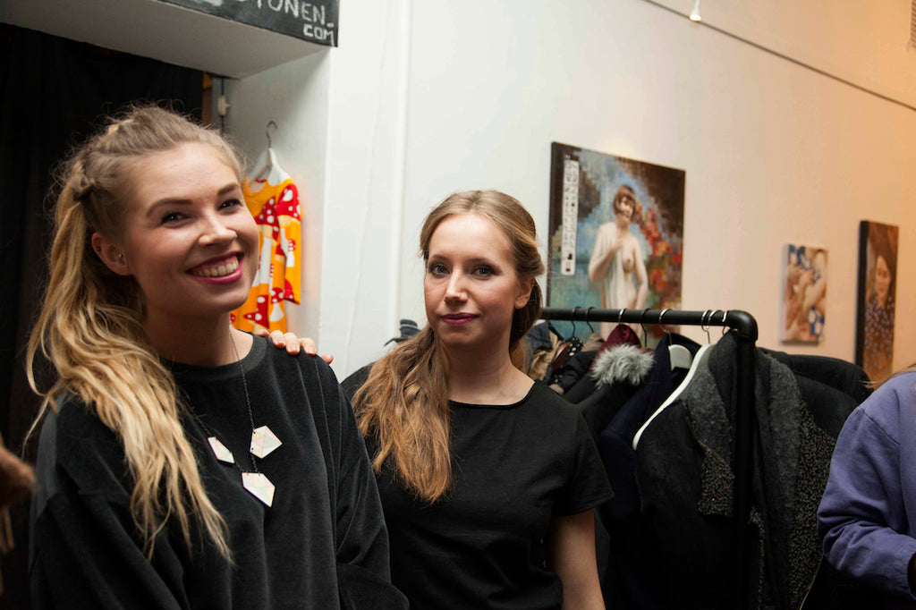 Mori Collective fashion show Tuuli & Miia