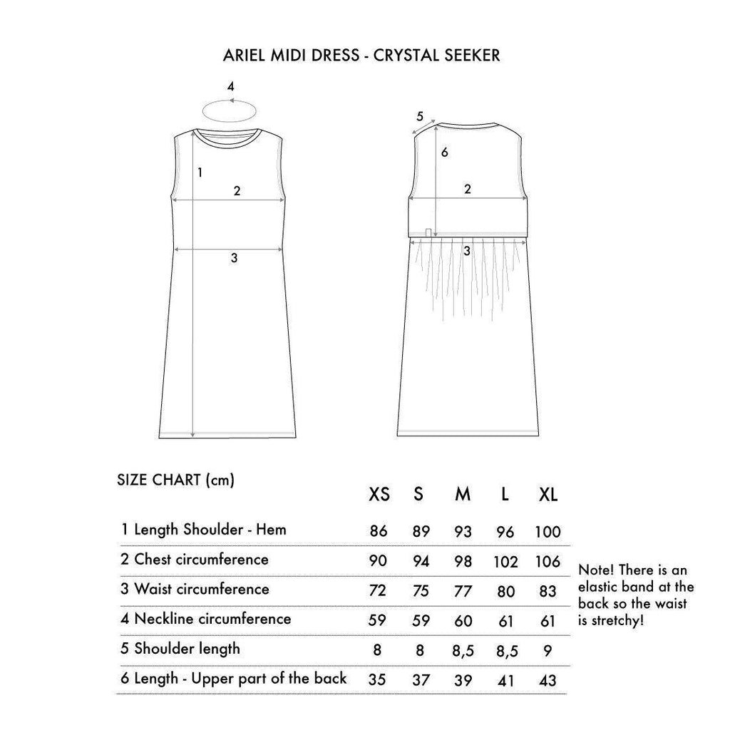 Crystal Seeker Ariel Midi Dress - MORICO