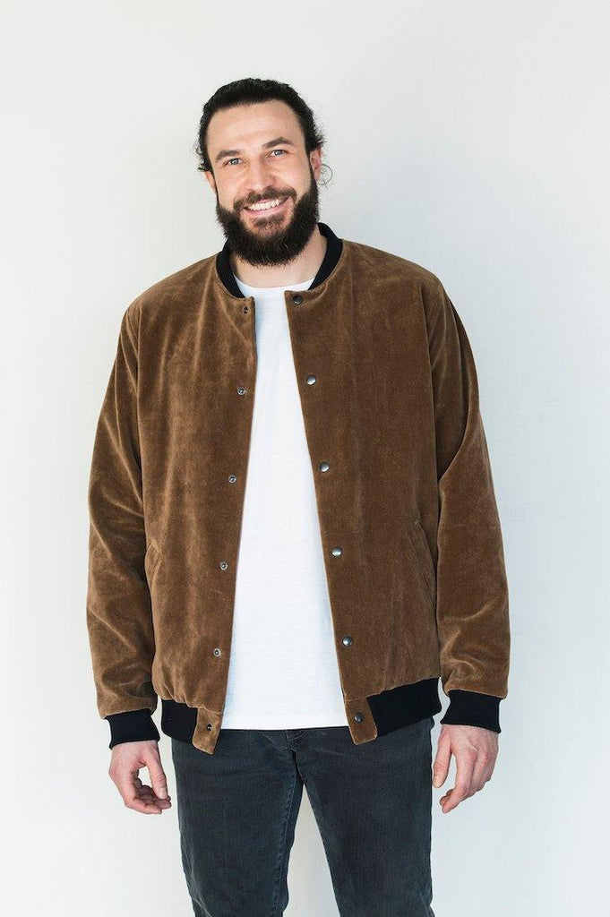 Try on our sustainable clothing Jacket DFD Welcome To The Jungle Bomber Jacket - MORICO