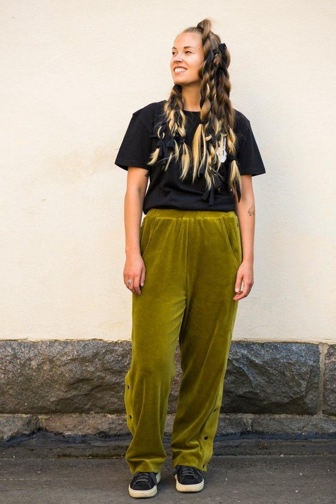 Snap Pants - Forest Green