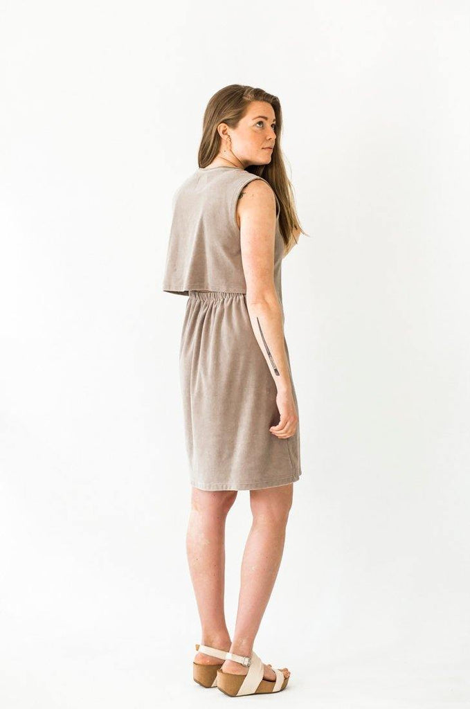Ariel Midi Dress - Sand - MORICO