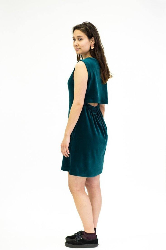 Ariel Midi Dress - Ocean Green - MORICO