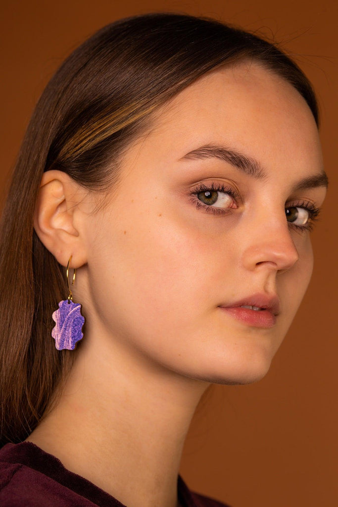 Kimpale Earrings – Amethyst