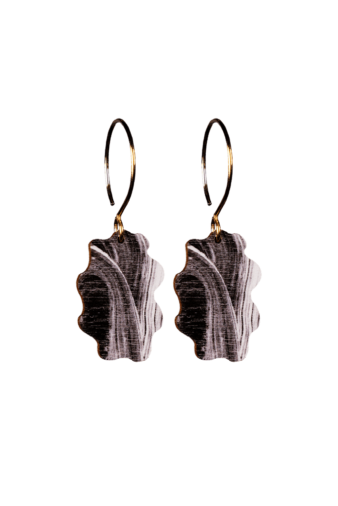Kimpale Earrings – Black