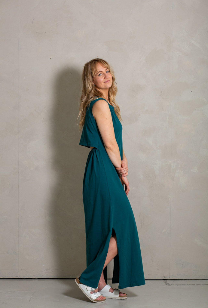 Ariel Maxi Dress - Emerald - MORICO