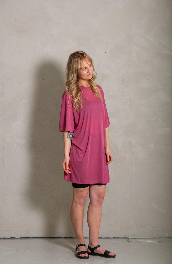 Juniper Dress - Cerise