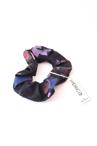 Try on our sustainable clothing Accessories Scrunchie - Dark Matter - MORICO