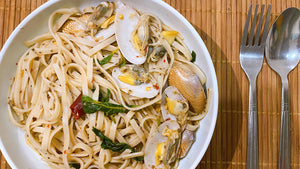 Pui's Spicy Clam Pasta
