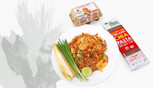 Red Rice Chia Pasta Pad Thai