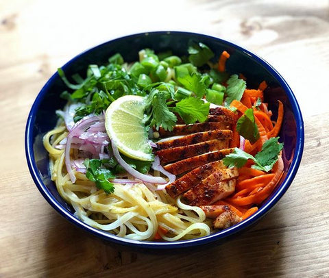 Perfect Earth's Carrot Curry Noodle Bowl