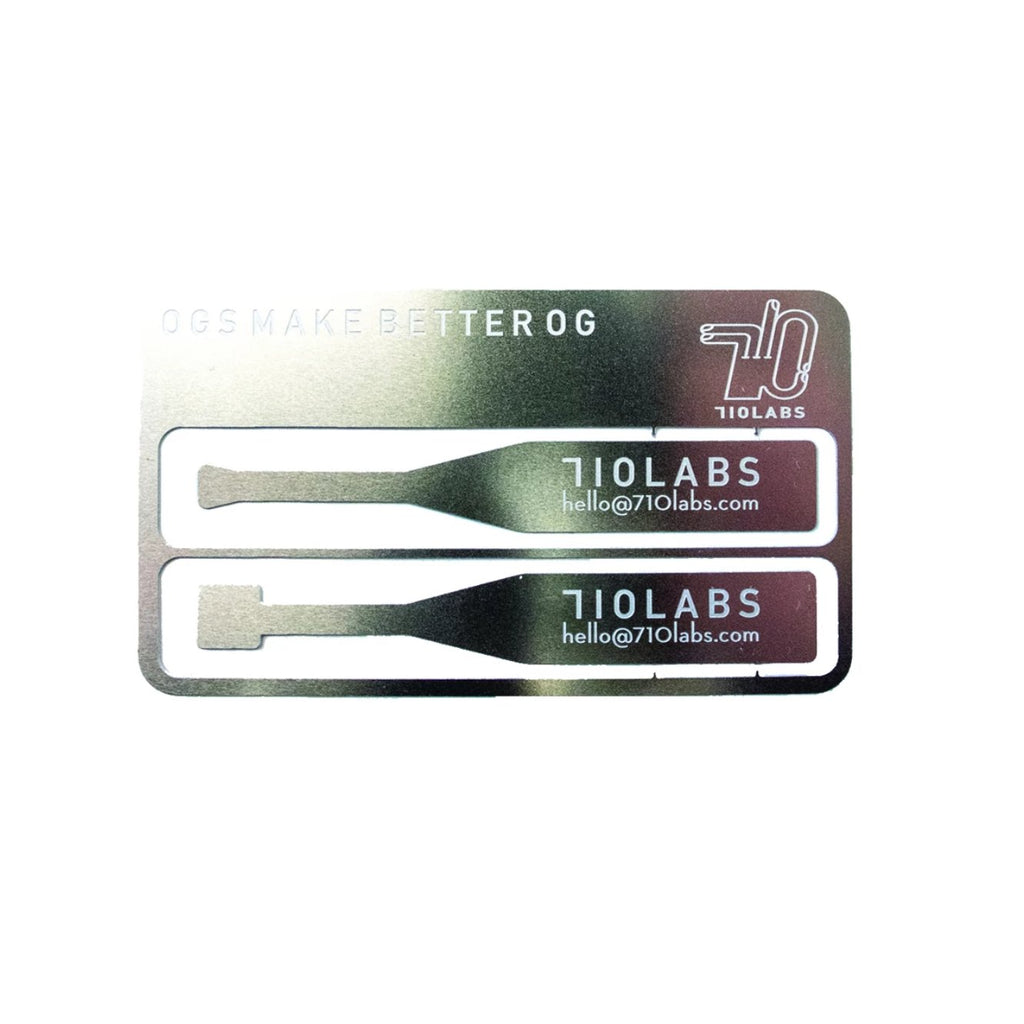 710 Labs Stainless steel card
