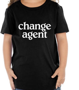 Girls Change Agent Tee