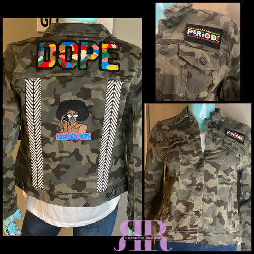 Naturally Dope Camo Jacket