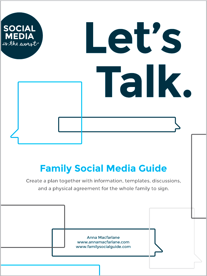 Family Social Guide - Let's Talk! (for kids age 10–18)