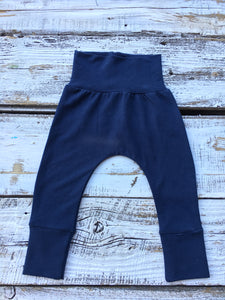 Navy Bamboo Joggers-French Terry