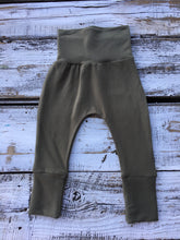 Olive Bamboo Joggers-French Terry