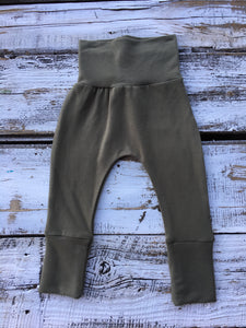Olive Bamboo Joggers