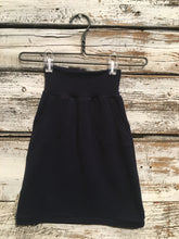 Navy Bamboo Skirt