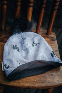 Grey Critters Slouchy Toque