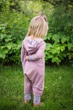 Heathered Mauve Romper