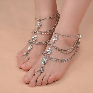 1pcs Water drop Charm Anklet Foot Chain