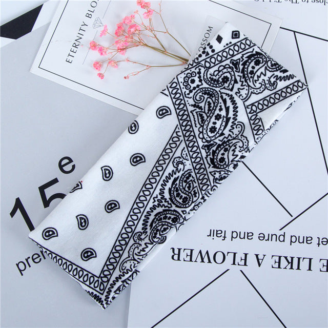 Flowers Printed Hair Bands